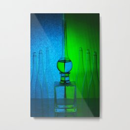 Still Life with an inclined plane Metal Print