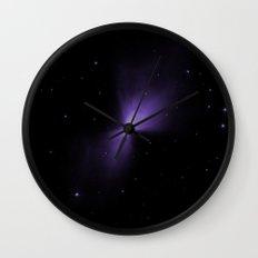 Mysterious Nebula Wall Clock
