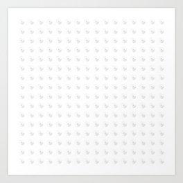 Cozy pattern Art Print