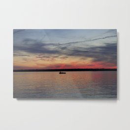 Thousand Islands Sunset Metal Print