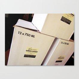 Garnier Vineyards - Cases Canvas Print