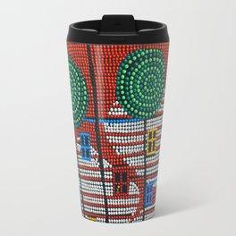 Red house Travel Mug