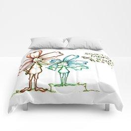 """""""Moms Know Best"""" Flowerkid Comforters"""