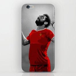 Mohamed Salah - Liverpool iPhone Skin
