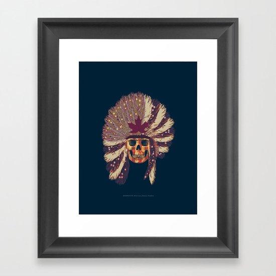 WARPAINT 114 Framed Art Print