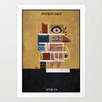 04_ARCREATURES-01 Art Print