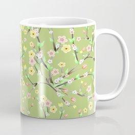 Green Spring Blossom Coffee Mug