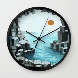 Fingal's Cave Overture - Hebrides - Mendelssohn Wall Clock