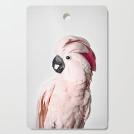 Pink Cockatoo Cutting Board