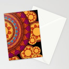 Ethnic Indian Mandala Stationery Cards