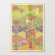 A FARCE / PATTERN SERIES 003 Canvas Print