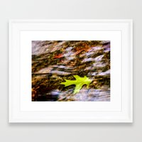 underwater Framed Art Prints featuring underwater by Bonnie Jakobsen-Martin
