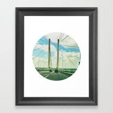 The Dartford Crossing Framed Art Print