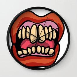 Hissy Fit Wall Clock