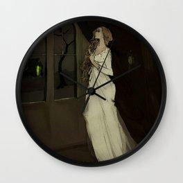 the family crypt Wall Clock