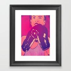 Boxing Club 8 Framed Art Print