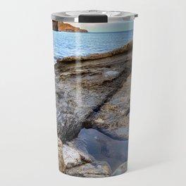 """""""Volcanic sea"""". Cabo de Gata. Travel Mug"""