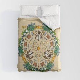 Beekeeping Mandala Comforters