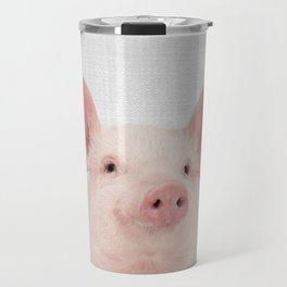 Pig - Colorful Travel Mug