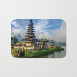 Water Temples of Bali Bath Mat
