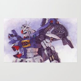 Gundam GP01 Rug