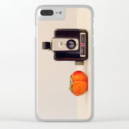 Persimmon and a Brownie Clear iPhone Case
