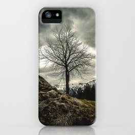 Against the Wind iPhone Case