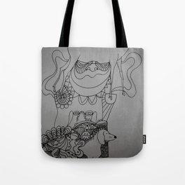 dackel & deer Tote Bag