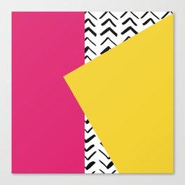 Decorative Pillow Cover Canvas Print
