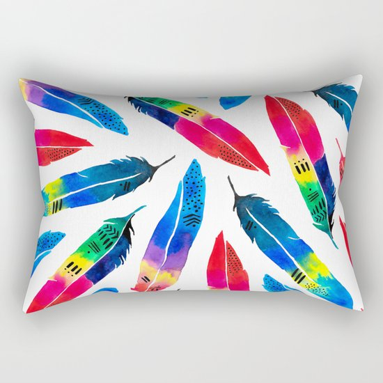 Exotic Parrot Rectangular Pillow