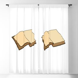 Open Book Blackout Curtain