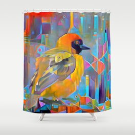 Eyes Bee the One Shower Curtain