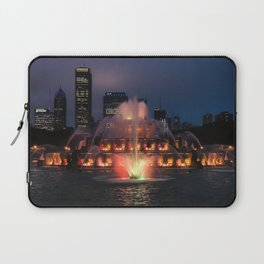 Buckingham Fountain Laptop Sleeve