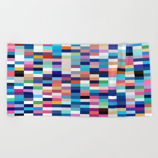 Colors Beach Towel