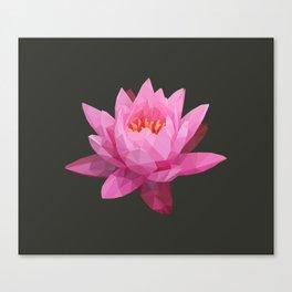 Pink Lotus Flower  Canvas Print