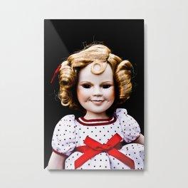 Halloween Doll - The Cheerleader Metal Print