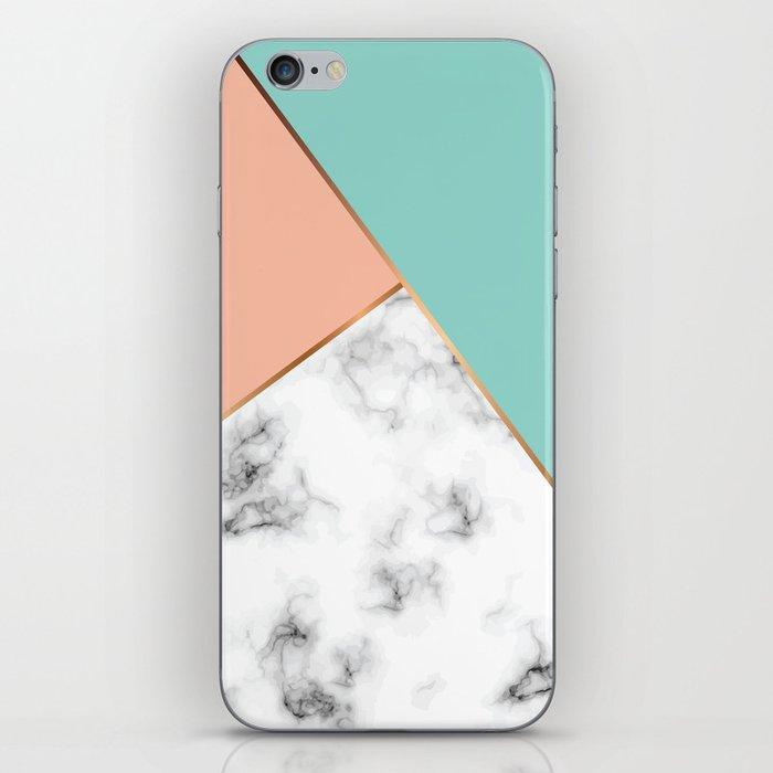 Marble Geometry 056 iPhone Skin