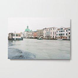 Venice | italy | Europe | travel photography | wanderlust | pastel Metal Print