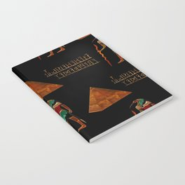 Ancient Secrets THOTH 3D Scifi Egyptian Notebook