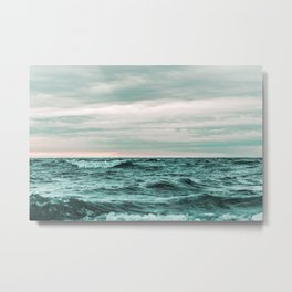 Wild Sea #society6 #buyart Metal Print