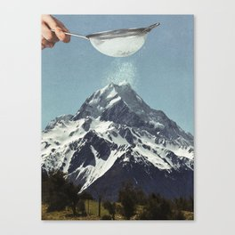 Sifted Summit Canvas Print