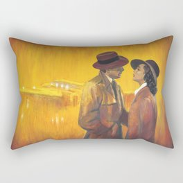 Casablanca film poster - The End Rectangular Pillow