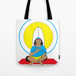 Surf Religion Tote Bag