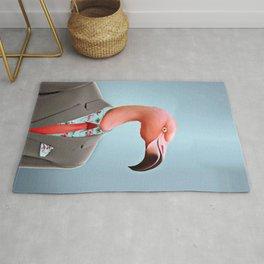 Pink Flamingo's Rug