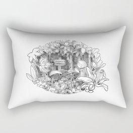 Disorderton (3D papercut) Rectangular Pillow