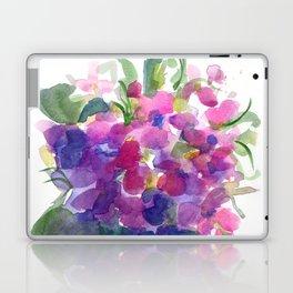 Little Pink Violets Laptop & iPad Skin