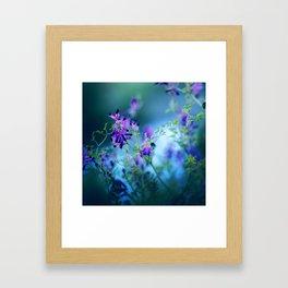 Forest Echoes Framed Art Print