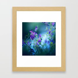 Forest Echoes Framed Art Print