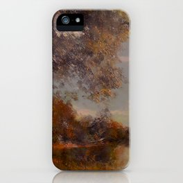 Lakeside Glow iPhone Case