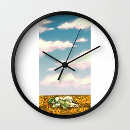 Sleeping Ion Wall Clock